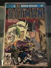 BATMAN A Movie Special Comic Book No.1 1989