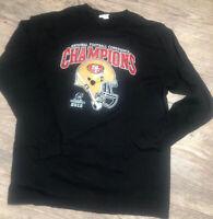 San francisco Vintage 49ers NFC Champions 2012 Long Sleeves Shirt