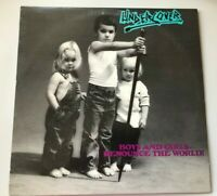 UNDERCOVER - Boys And Girls-Renounce The World! LP US 1984 OIS A&S Records