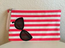 New Kate Spade Splash Out Sunglasses XL Clutch Bag Wristlet Rare