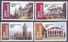 New Zealand 1982 ARCHITECTURE (4) Mint Unhinged SG 1262-5