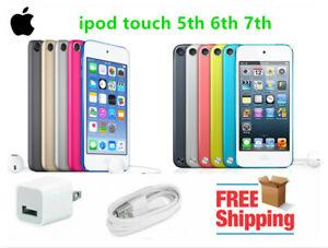 New Apple iPod Touch 5th 6th 7th Generation 16GB 32GB 64GB 128GB 256GB - Sealed