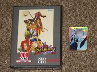 New! The Last Blade 2 Limited Run Collectors Edition Neo Geo Playstation 4 PS4