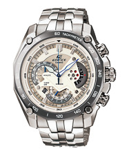 Casio Edifice EF-550D-7A Men's Chronograph Stainless Steel Band Analog Watch