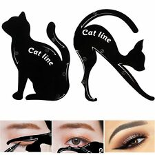 1x Charming New Cat Line Eye Makeup Tool Eyeliner Stencils Template Shaper Model