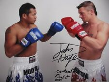JOHN WAYNE PARR JWP Hand Signed 8'x10' Photo  +  Proof
