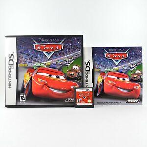 Disney Pixar Cars (Nintendo DS, 2006) Racing Lightning McQueen Complete CIB!