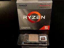 AMD Ryzen 5 3400G 3.7GHz 4 Core Wraith Spire Cooler Processor Used
