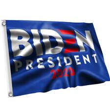 New listing 2020 Joe Biden For President 2020 Flag. 3'X5'. Blue & White Us Stock