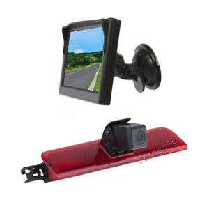 Reversing Camera & Suction Cup Rear View Monitor for Volkswagen VW Caddy