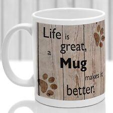 Mug dog mug, Mug dog gift, ideal present for dog lover