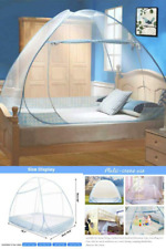 100X 200Cm Mosquito Net Bed Canopy Portable Foldable Single Door Camping Curtain