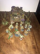 Warhammer 40k Chaos Space Marines & Nurgle Daemons Army W Incomplete Baneblade !