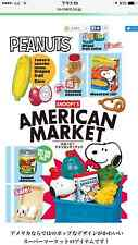 Re-ment Snoopy American Market Full Set of 8/miniature