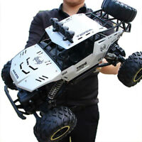 4WD RC Monster Truck Off-Road Vehicle 2.4G Remote Control Buggy Crawler Car E