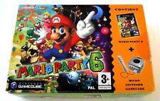 Mario Party 6 + Micro - Nintendo GameCube - Fr