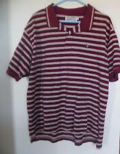 Us Polo Assn. Burdeos Beis Manga Corta Camisa Pólo de Algodón Talla XL