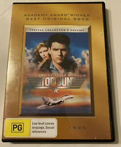 DVD - Top Gun (1986 Movie) 2 Disc Special Collector's Edition - Region 4