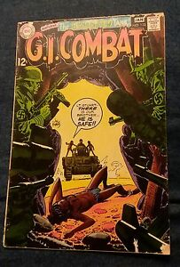 G.I. Combat #133 The Haunted Tank FR silver age War propaganda cover classic