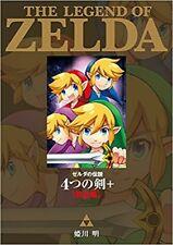 The Legend of Zelda Four Swords + Complete Manga Comic Anime Book Japan