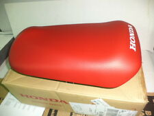 GENUINE HONDA SINGLE SEAT   RED   RUCKUS  2003-2017