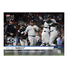 2019 TOPPS NOW # 982 NEW YORK YANKEES Advance to ALCS With 5-1 Win Over Twins