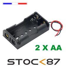 997G#   Boitier Bloc Support pour Pile 2 X AA  LR06  Battery Holder Case