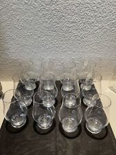Set of 6 Glencairn Crystal by Stolzle Crystal whisky glass EXCELLENT (12 Shown)