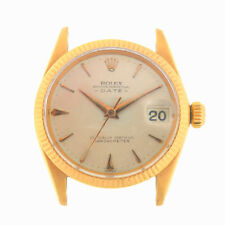 Rolex 6627 Vintage 18k Yellow Gold Date Automatic Head Only Circa 1950