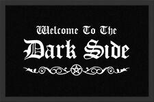 """Fußmatte """"Dark Side"""" Gothic*schwarz*emo*heavy metal*welcome*türvorleger"""