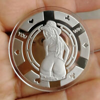 You win Hot Cowgirl  / 1 oz .999 Fine Silver Round Bar Bullion Coin SB1M6-2