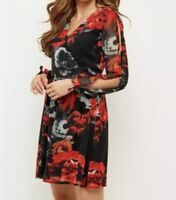 joe Browns Sultry Skater Dress Size UK10 RRP£39.95 {N115}