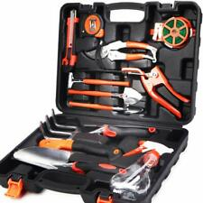 Gardening Gift Set Weeding Pruning Raking Tools Storage Organizer Heavy Duty New