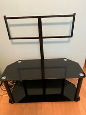 Swivel Floor TV Stand with Mount for most 32 to 65'' TVs