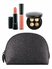 Limited Edition MAC COSMETICS MAC Keepsakes Gold Lip and  Eye Bag