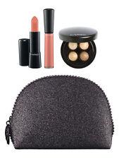 Limited Edition MAC COSMETICS MAC Keepsakes Gold Lip and  Eye Bag