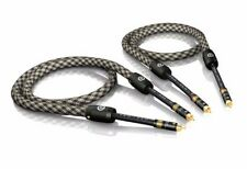 3, 00 M VIABLUE nf-s6 air argenté RCA RCA Cable RCA 3,0M 3M (1 paire)