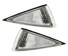 95-99 Chevrolet Cavalier Clear Corner Park Lights PAIR DEPO