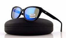 POLARIZED NEW Authentic SERENGETI SOPHIA Shiny Black GPB Mirror Sunglasses 8280