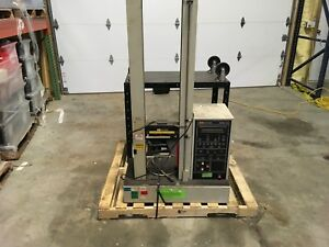Instron model IOII tensile tester, 100/120-220/240v, weighs 220lbs, warranty