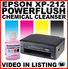 Epson XP-212 Printhead Cleaner Nozzle Cleanser. Head Cleaning Kit