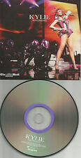 KYLIE MINOGUE BEST of RARE LIVE TRX Europe NEWSPAPER PROMO CD USA seller  2011