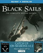 Black Sails: Season 1 & 2 Blu-ray