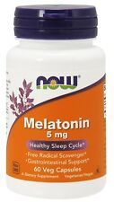 NOW Foods Melatonin 5 mg - 60 Veg Capsules