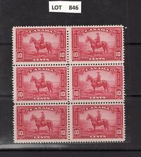 CANADA RCMP BK6 Mint never hinged LOT 846
