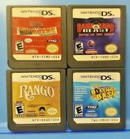 Barnyard Cars Mater Rango Spongebob Bash - Nintendo DS Lite 2ds 3ds Game Lot