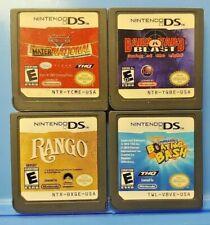 Barnyard Cars Mater Rango Spongebob Bash - Nintendo DS Lite 2ds 3ds Game Lot