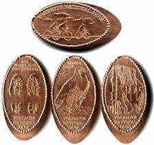 *Copper* Yosemite Lodge Complete Machine Set (4) Made w/unc pre82 copper cents