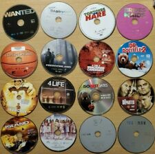 Lot of 100 Used ASSORTED DVD Movies - 100 Bulk DVDs, Used DVDs Lot, Wholesale
