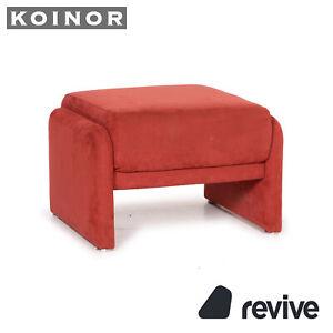 Koinor Fabric Stool Orange